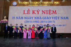 35th Anniversary of Vietnamese Teachers' Day (20/11/1982-20/11/2017)