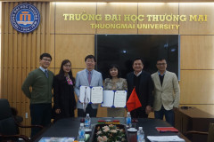 OPPORTUNITIES TO STUDY IN VIETNAM AND SOUTH  KOREA, TAKING DOUBLE-UNIVERSITY DEGREE AFTER 4 YEARS FOR STUDENTS OF TMU