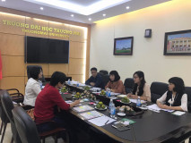 Thuongmai University Receives and Works with Kaohsiung National University of Hospitality and Tourism – Taiwan