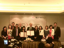 SIGNING CEREMONY OF MEMORANDUM OF UNDERSTANDING BETWEEN SINGAPORE POLYTECHNIC SCHOOL, ICAEW AND THUONGMAI UNIVERSITY