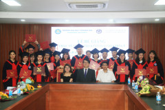 Closing Ceremony of the 5th MBA Class in Joint Training with Lunghwa University – Taiwan