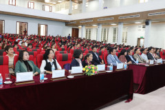 Closing ceremony of the official survey to assess the training program quality